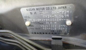 Nissan Gloria, 2001 г.в. full